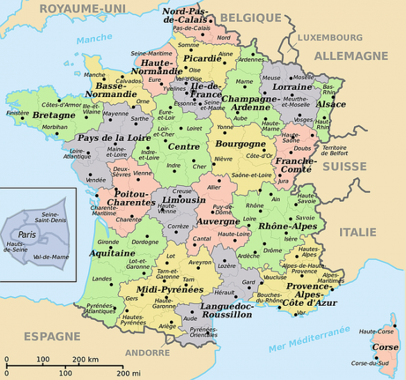 map-of-france